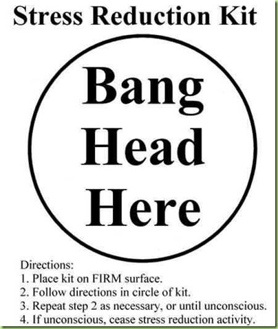 stress-reduction-kit-bang-head-here-exam-quote