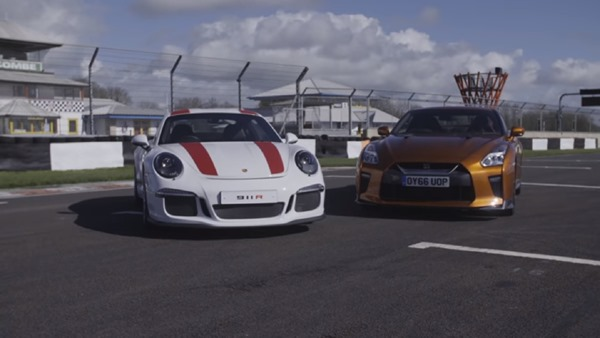 Nissan GT-R Vs Porsche 911 R