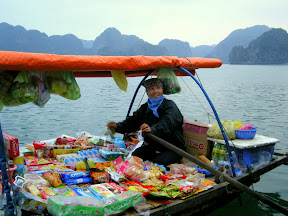 Vendor, Halong Bay, Vietnam