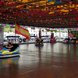bumper cars in Geneva, Switzerland in Geneva, Geneva, Switzerland