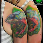 chameleon - tattoos ideas