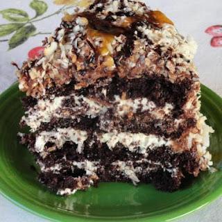 Coconut Caramel Cake Recipes