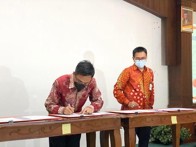 Optimalkan Pelayanan kepada Nasabah, Bank Kalsel Gandeng Pos Indonesia