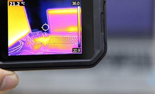 Thermal imaging provides security officers with investigation tools