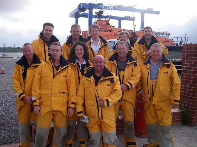 Poole crew at the end of their first aid training course