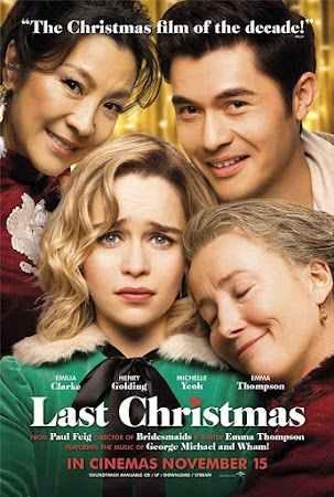 Poster Of Last Christmas In Dual Audio Hindi English 300MB Compressed Small Size Pc Movie Free Download Only At worldfree4u.com