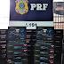 Oeste: PRF apreende carga de aparelhos eletrônicos sem nota fiscal