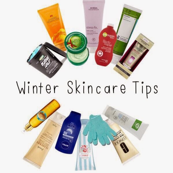 Aveda, beauty, Cath Kidston, Clinique, Forever 21, Fresh, Garnier, Green People, Korres, Nivea, polyvore, Victoria's Secret,  winter skin care tips, skin care tips, skin case, skin care essentials
