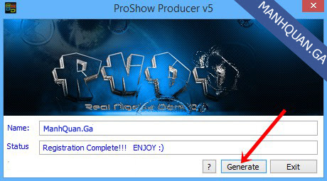 Hướng dẫn cài đặt & Crack phần mềm Proshow Producer 7