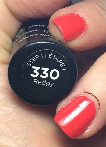 Midwest Lacquered Momma: Sally Hansen Miracle Gel- Redgy