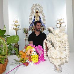 Ofrenda floral UD Montijo