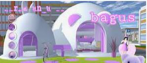 Perumahan Iglo Di Sakura School Simulator