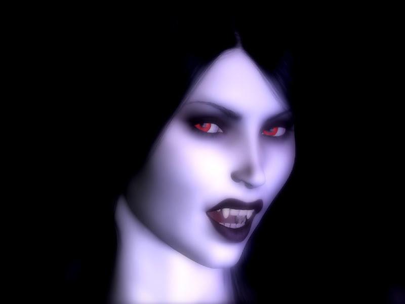Vampire With Whate Skin, Vampire Girls 1