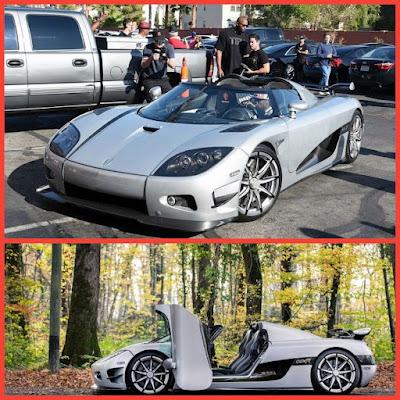 (8). Koenigsegg CCXR Trevita — $4.8 million