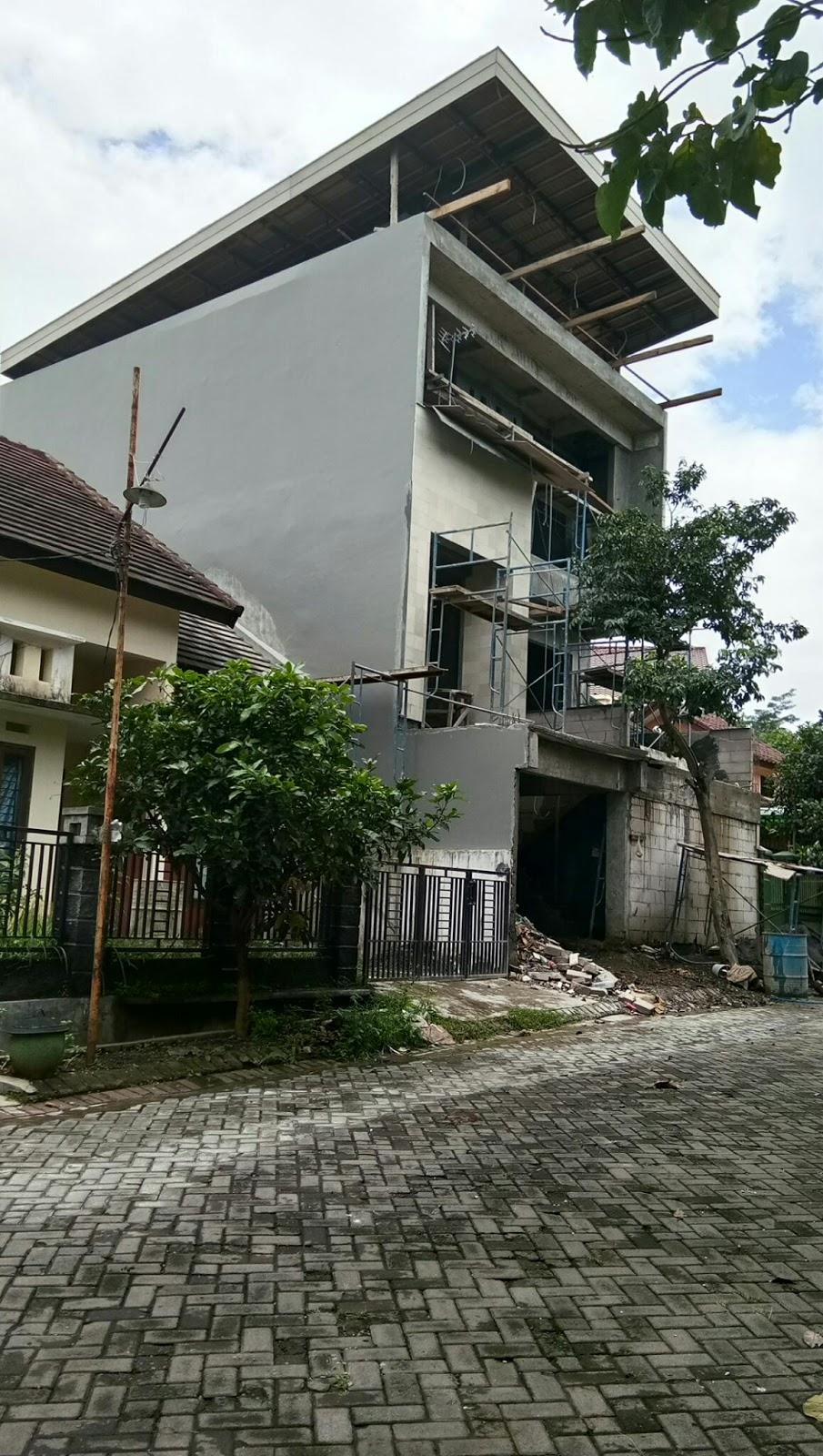Atap Rumah Rangka Besi Wf Bengkel Las Malang