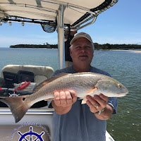 Tim with an Redfish 05-24-2018