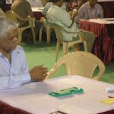 The organizing Secretary – Mr. P.Vahalia, enjoying his Bridge game at the Nationals