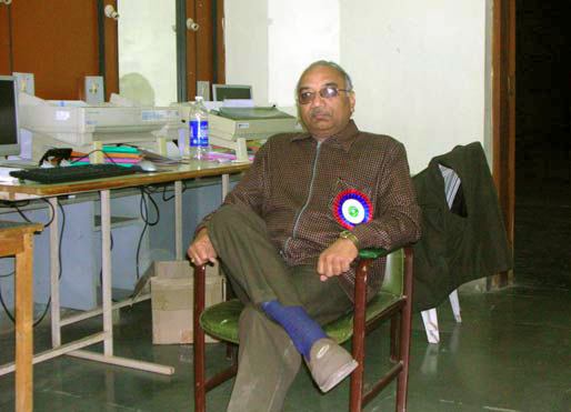Mr. G.M. Patel – The in-charge Venue Committee