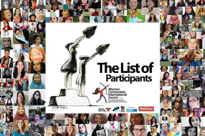 The List of Participants Woman Cartoonist International Awards