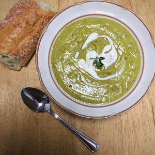 Easy Pea-sy Split Pea Soup.