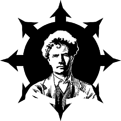A Young Austin Spare In A Chaostar By Michael Cooke, Austin Osman Spare