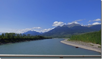 Skeena River, Cassiar Highway near Kitwanga