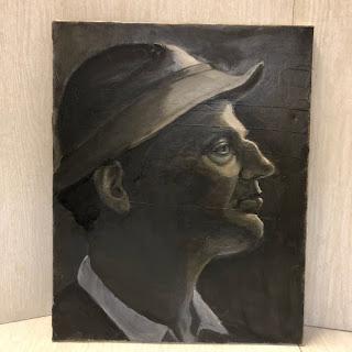 Ternowitz Oil Portrait