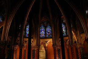 Ste. Chapelle lower chapel altar