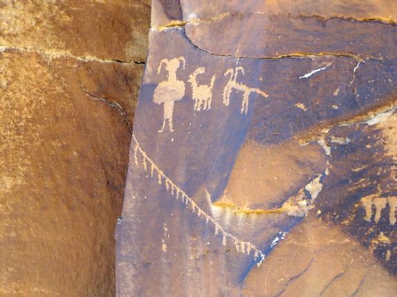 Glyphs near Coyote