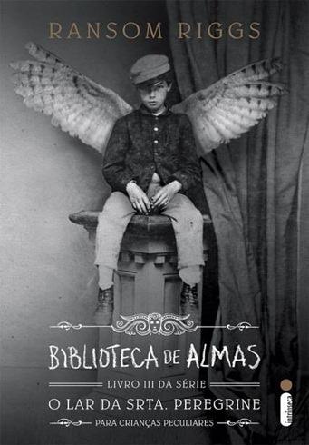Biblioteca de Almas - Ransom Riggs - Capa