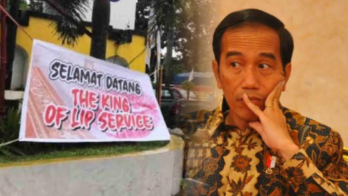 """The King Of Lip Service"" Sinyal Negara dalam Bahaya"