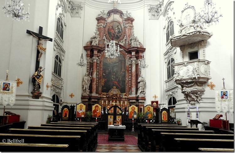 Markuskirche Schiff