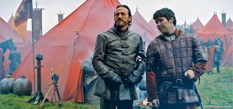 Ser Bronn del Aguasnegras y el legendario Tripod