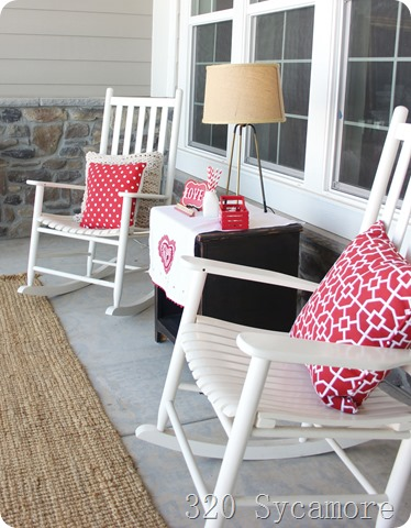 valentine porch