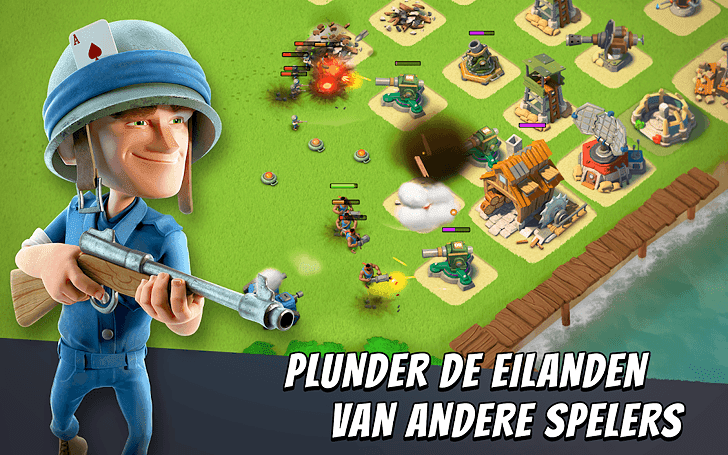 Boom Beach App voor Android, iPhone en iPad