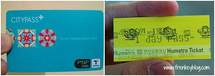 TMoney dan Busan Pass
