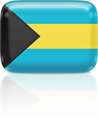 Bahamian flag clipart rectangular