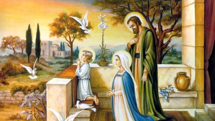 Thánh Gia, gương sáng của tin yêu