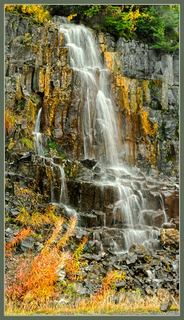 """Roadside Waterfall"" by Ardythe Wendt - Special"