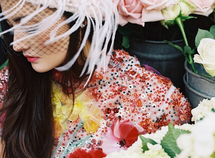 EDITORIAL: Peony Lim for Chanel Haute Couture