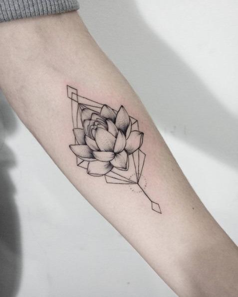 este_geomtricas_lotus_flower_design