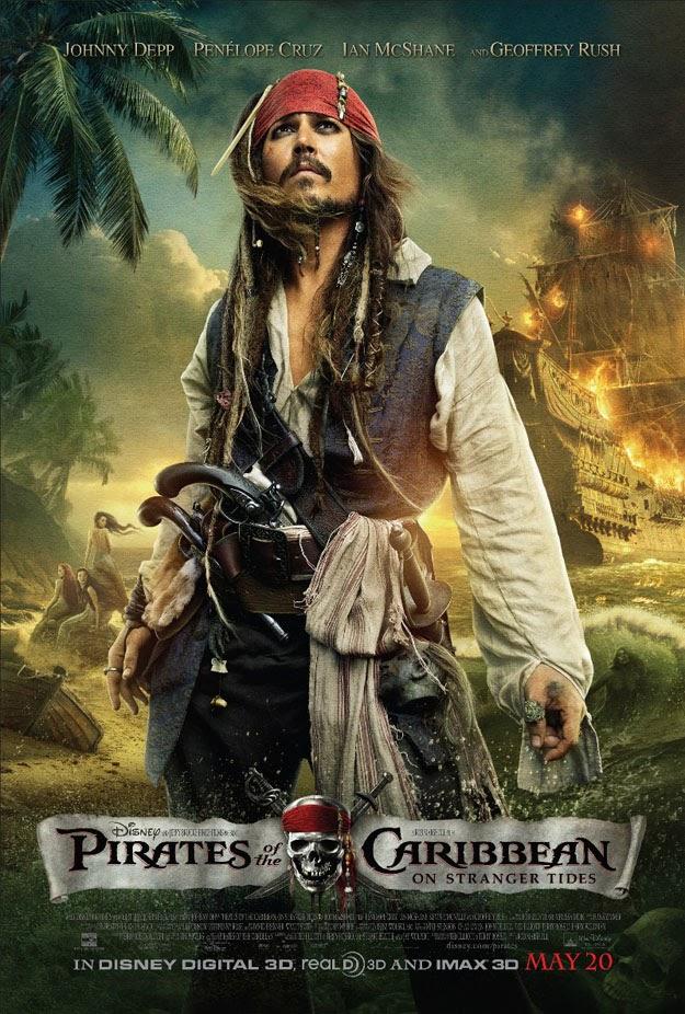 Johnny Depp es Jack Sparrow