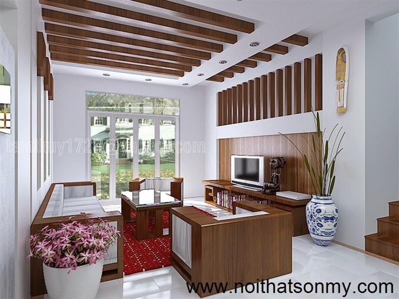 Mẫu thiết kế nội thất phòng khách 313