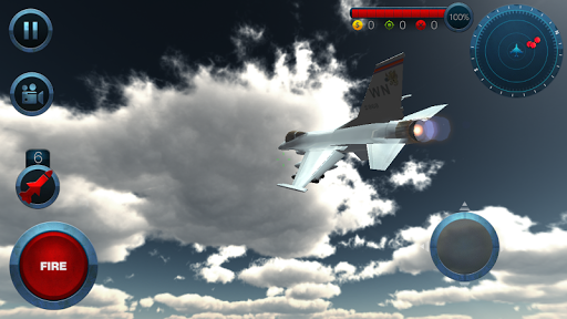 Jet Plane Fighter City 3D 1.0 screenshots 4
