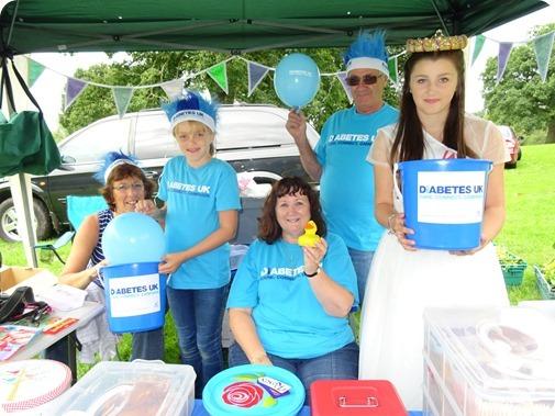 Diabetes UK stall