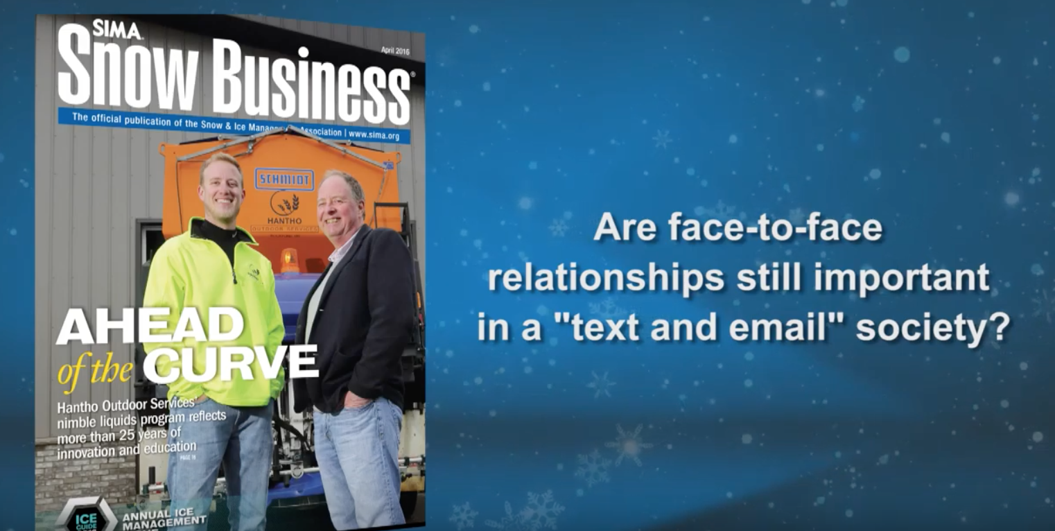 Charles Glossop believes that face-to-face business relationships have been key to their success in the industry.