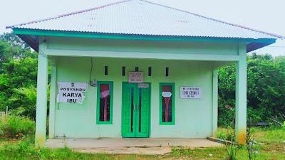 Posyandu Desa Siabu Disatroni Maling, Mesin Air Lenyap