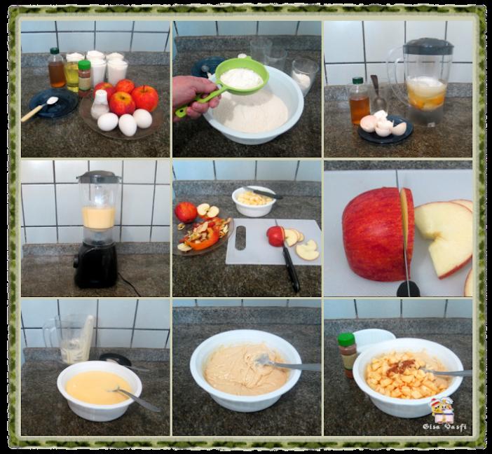 Bolo de maçã 3