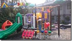 BabyBuild 遊具工班進場施工