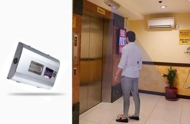 Hotel Sogo elevator lobby